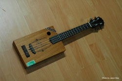 cigar box uke, jasonmayart, jimmycakes, custom, wood